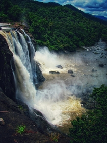 Athirapilly Falls Western Ghats India