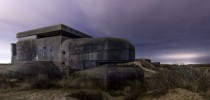 Atlantic wall bunkers