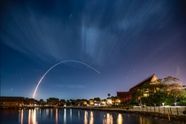 Atlas V launch from Cape Canaveral Polynesian Resort