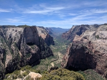 Atop Observation Point Zion Utah