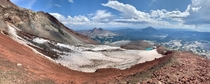 Atop South Sister in the Three Sisters Wilderness