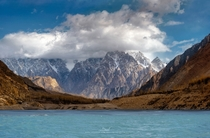 Attabad Lake and Passu Cathedrals Hunza Pakistan  by iGoal KWPHOTO