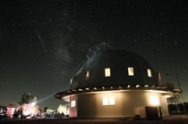 Attended the Mojave Desert Land Trusts th annual Perseid Meteor Shower Star Party at the Integratron