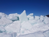 attraction in Irish Cove Nova Scotia dubbed the Ice Wall