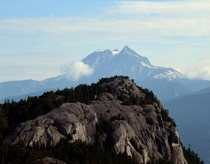 Atwell Peak and backside of Stawamus Chief near Squamish British Columbia