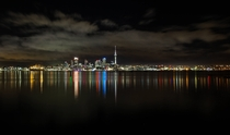Auckland City looking pretty pretty last night  Auckland New Zealand