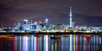 Auckland City Skyline New Zealand