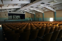 Auditorium in Abandoned Mayview State Hospital Pittsburgh PA
