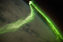 Aurora Australis Observed from the ISS