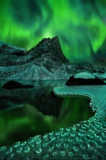 Aurora Borealis at its finest in Alaska
