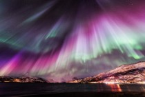 Aurora Borealis in Nordreisa Norway