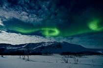 Aurora Borealis Troms Norway  A live coverage of this phenomenon can be seen tonight at  PM CET link in comments