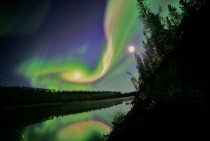 Aurora caused by coronal mass ejection