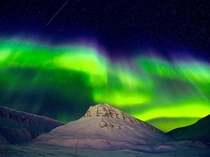 Aurora Dancing lights Hamn I Senja Troms Norway OC