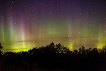 Aurora north of Waterloo Ont morning of Oct