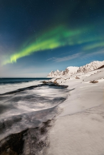 Aurora over Devils Teeth - Tungeneset Senja