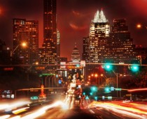Austin Texas as seen from South Congress Avenue