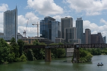 Austin Texas on a hot summers day
