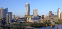 Austin Texas the fastest growing city in the US has doubled its population from