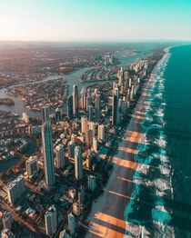 Australia Gold Coast Surfers Paradise Beach