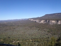 Australia Queendsland Carnarvon Gorge Boolimba Bluff OC  Dont let it fool you it was nearly  at night