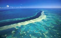 Australias Great Barrier Reef from amove