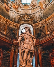 Austrian National Library Vienna  by aesthetical_rebellion