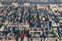 Automated Container Yard Long Beach