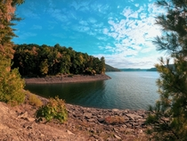 Autumn Colors over Kinzua Reservoir in Allegheny National Forrest near Warren PA