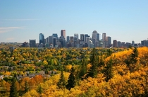 Autumn in Calgary Alberta
