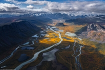 Autumn in Sarek NP Sweden  by marcograssiphotography