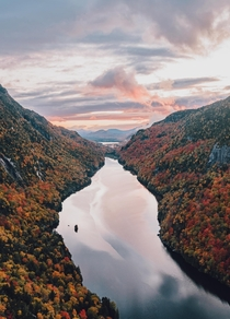 Autumn in the Adirondack Mountains Upstate New York