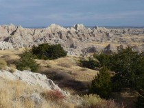 Autumn in the Badlands South Dakota  OC