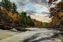 Autumn in the Canadian Shield Rosseau Ontario
