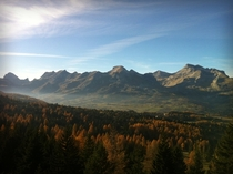 Autumn in the French Alps