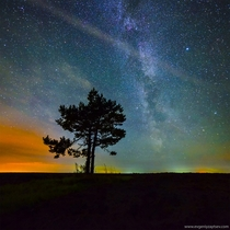 Autumn Night Sky near Molotitsy Vladimirskaya Oblast Russia  photo by Evgeniy Zaytsev