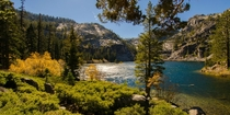 Autumn Sierra style - Eagle Lake in the Desolation Wilderness