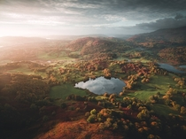 Autumn sunrise in the Lake District UK  johnedwardjames