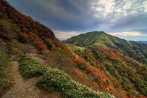 Autumn trekking - the beautiful colors of fall of MtTsurugi Japan  by Makoto D x rJapanPics