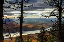 Autumn views from Mont-Tremblant Qubec