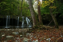 Autumn waterfall in the Finger LakesOC