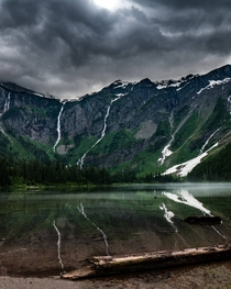 Avalanche Lake Glacier National Park Montana