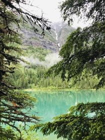 Avalanche lake Glacier National Park MT x