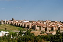 Avila Spain and its famous city walls
