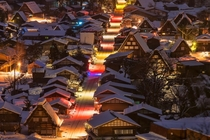 AWESOME Street in Shirakawa-go  MIYAMOTO Y