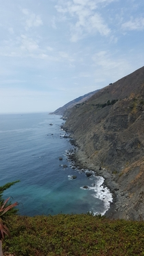 Awesome trail I found lead to this in Big Sur California