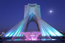 Azadi Monument in Tehran Iran