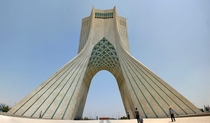 Azadi Tower Borj e-Azadi or Freedom Tower in Tehran Iran