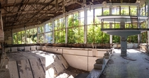 Azure Swimming Pool in Pripyat