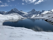 Bachalpsee above Grindelwald in the Swiss Alps